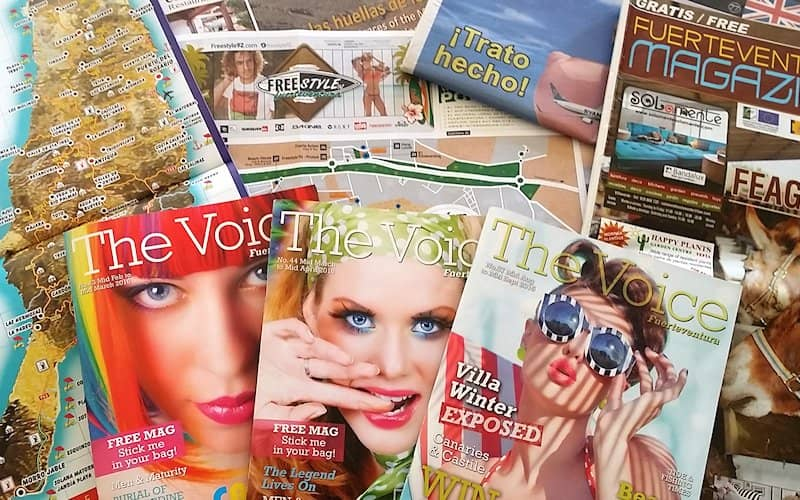 Fuerteventura Magazines and Newspapers